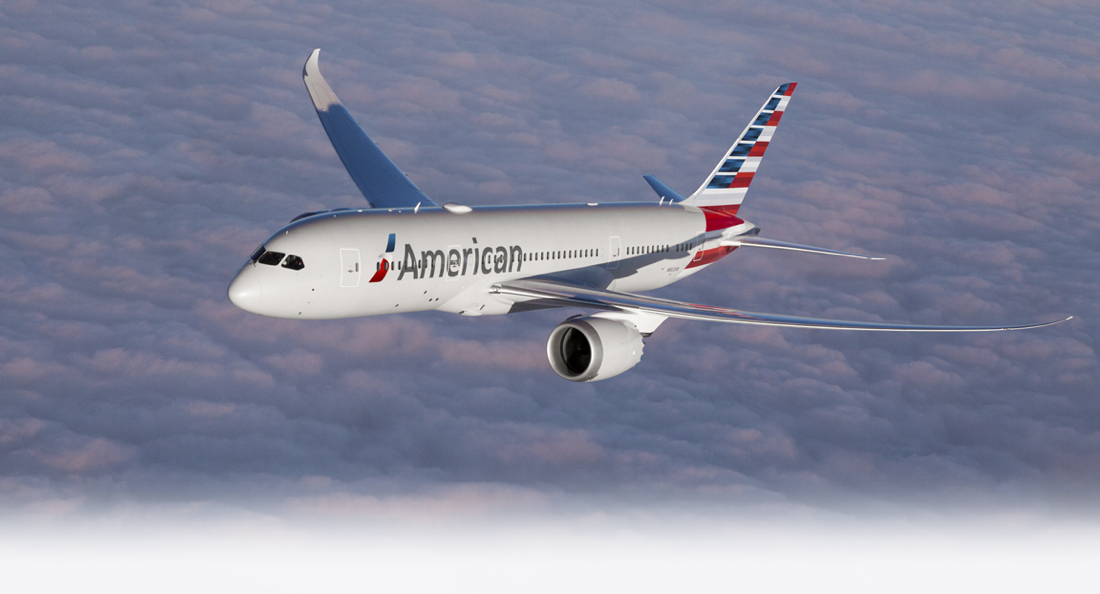 American Airlines web check-in