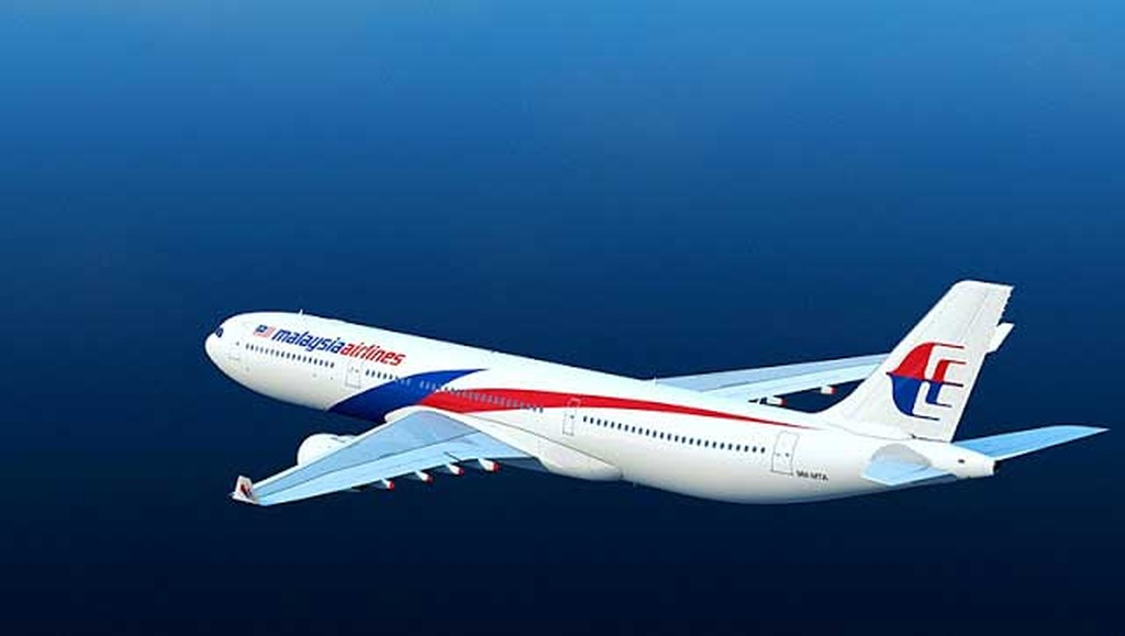 malaysia airlines in sky