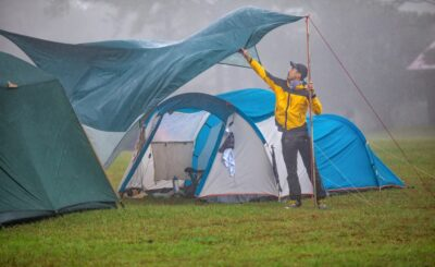 fully waterproof tents